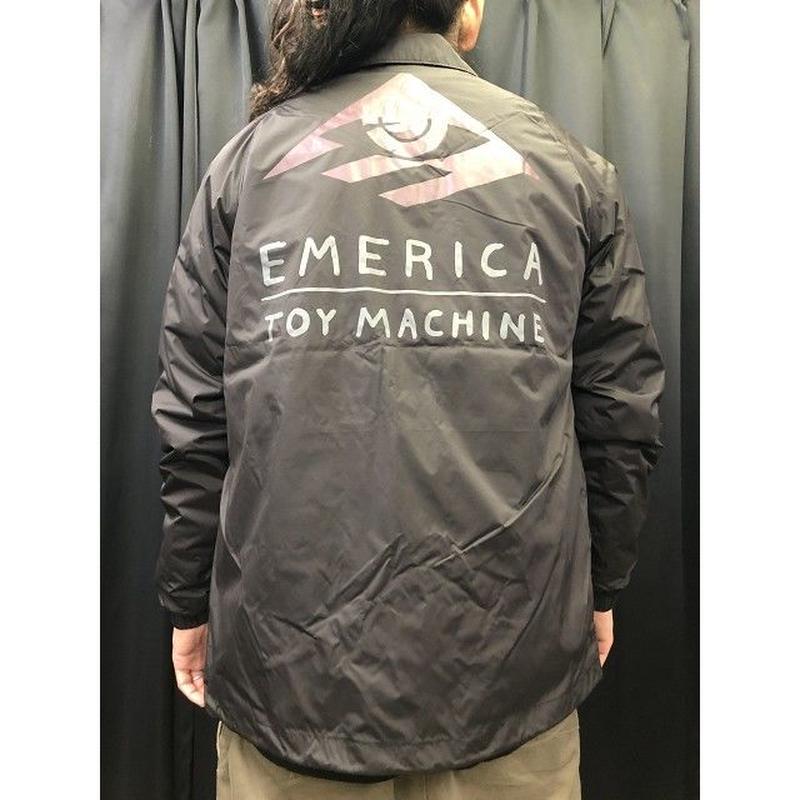 """Emerica / """"Darkness Jacket Toy Machine"""" Black / L"""