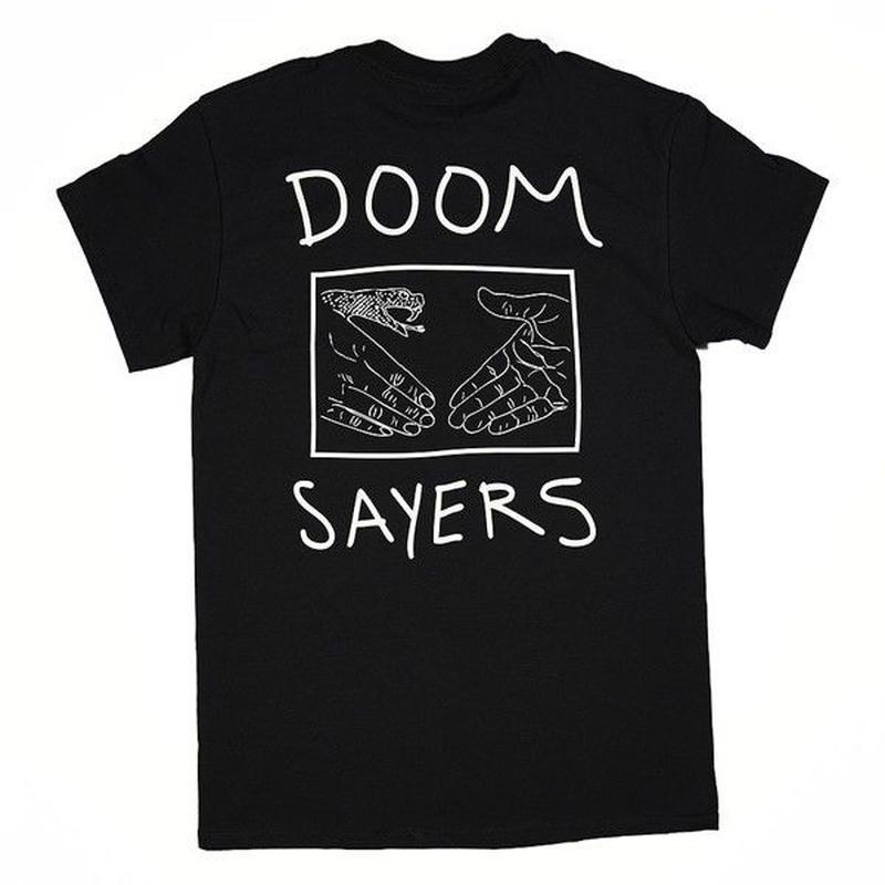 """Doom Sayers / """"Snake Shake T-Shirt"""" Black / XL"""