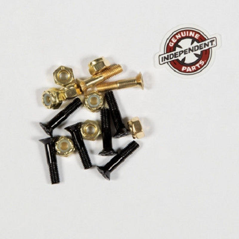 Independent / Cross Bolts プラス 7/8' Black / Gold