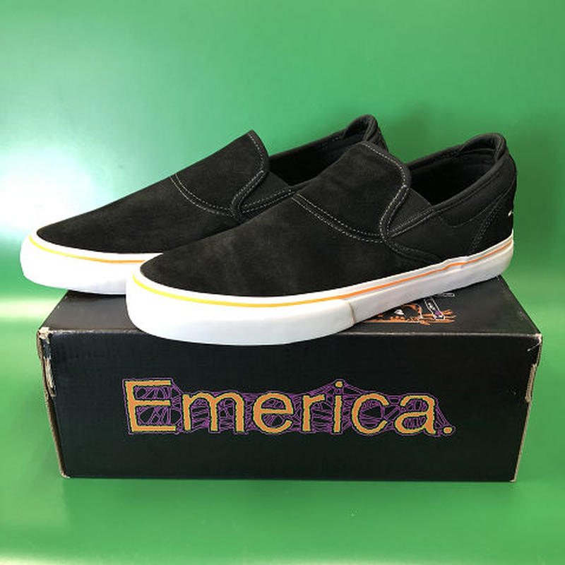 "Emerica / ""Wino G6 Slip-On × Funeral"" Black 10.5inch (28.5cm)"