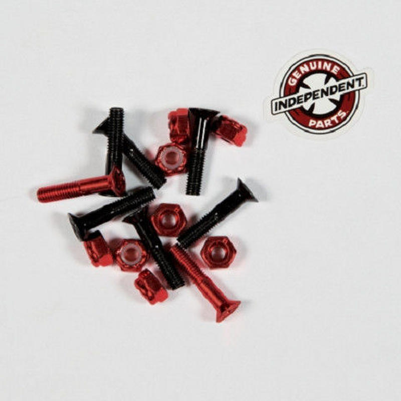 Independent / Cross Bolts プラス 7/8' Black / Red