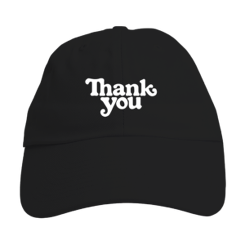 "Thank You / ""Thank You Hat"" Black"