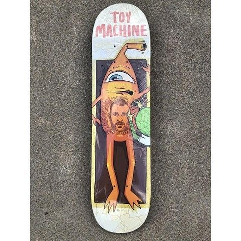 """Toy Machine / Ed Templeton """"Overlord"""" 7.75inch"""