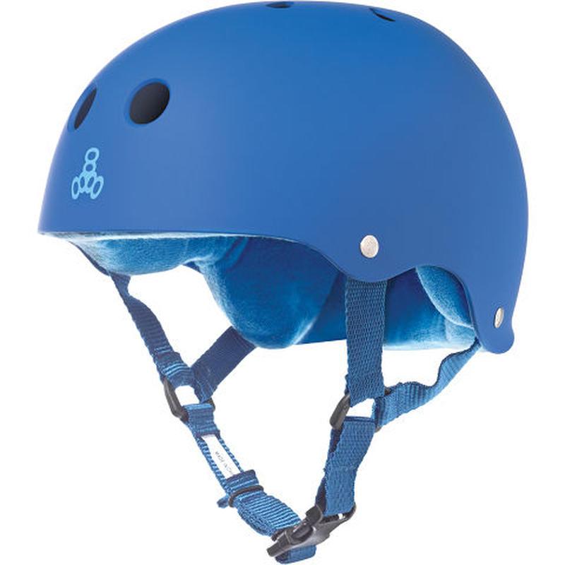 "Triple Eight Helmet / ""Sweatsaver Liner"" Royal Blue / Blue / XS"