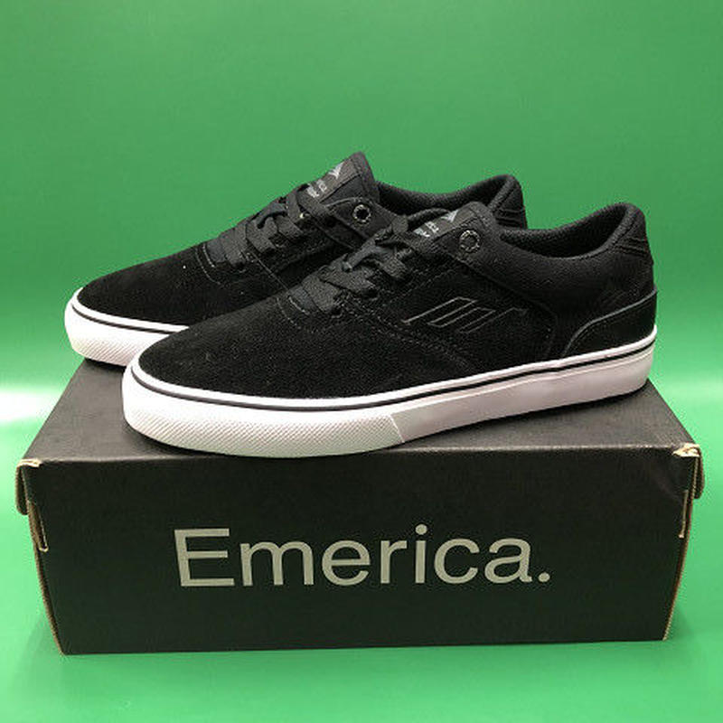 "Emerica / ""Reynolds Low Vulc Youth"" Black / White 2inch (20cm)"