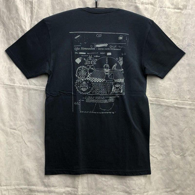 "Theories / ""Screen Memory T-Shirt"" Navy / L"