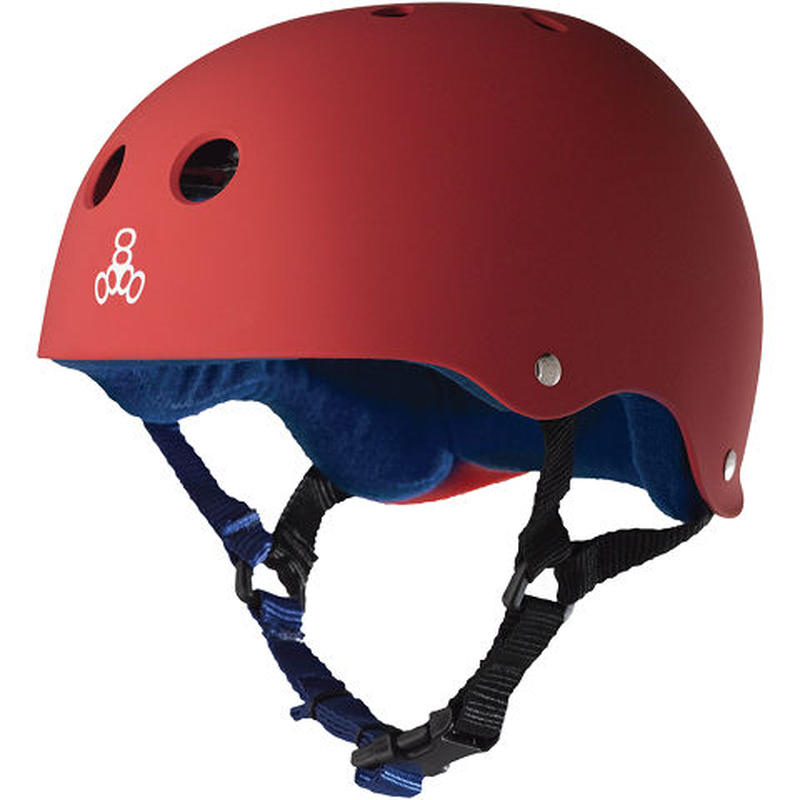 "Triple Eight Helmet / ""Sweatsaver Liner (United Red)"" Red / Navy / XL"