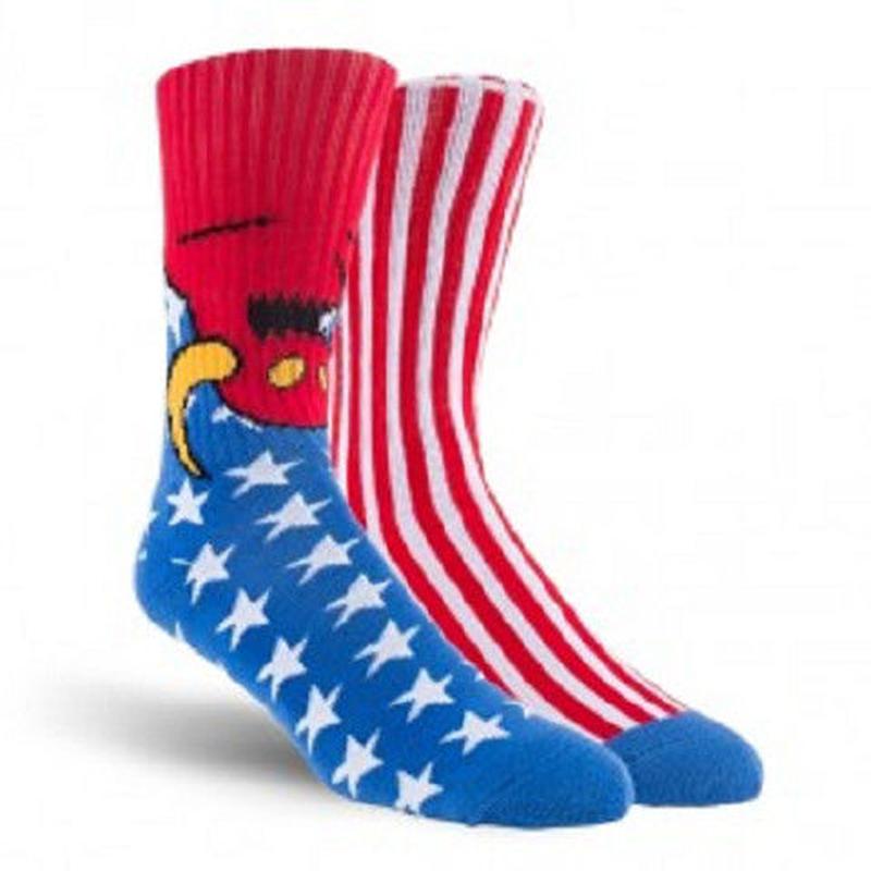 "Toy Machine / ""American Monster Sock"""