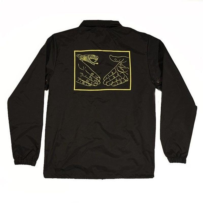 """Doom Sayers / """"Snake Shake 2 Coaches Jacket"""" Black / XL"""