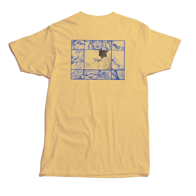 "State / ""Zen T-Shirt"" Yellow / L"