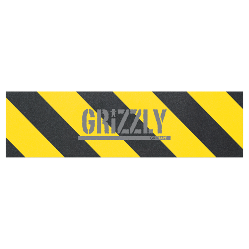 "Grizzly / ""Hazard Stamp Griptape Yellow"""