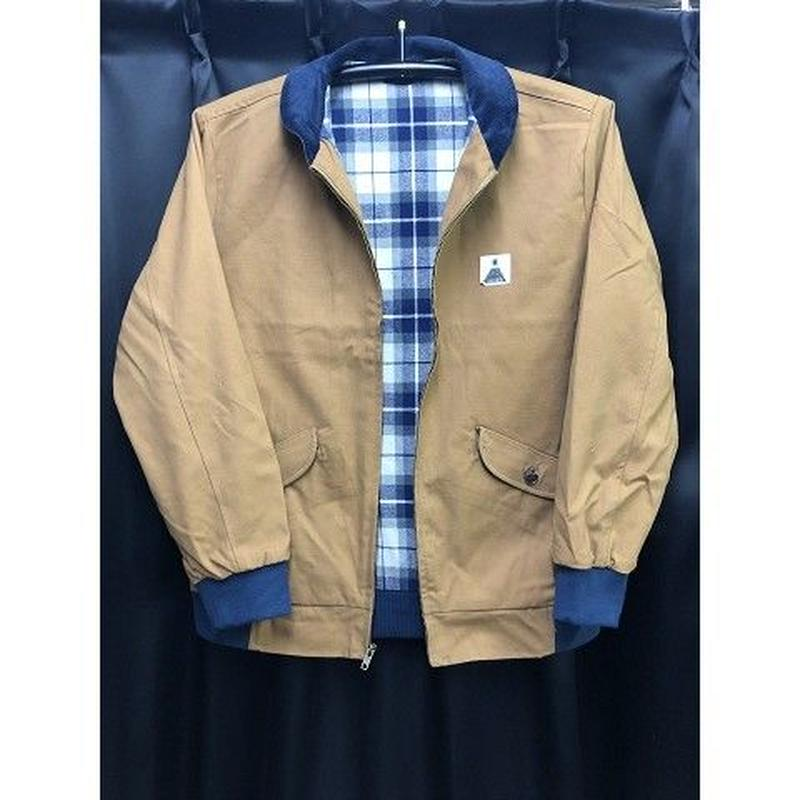 "Theories / ""Theoramid Utility Jacket"" Brown / Navy / L"