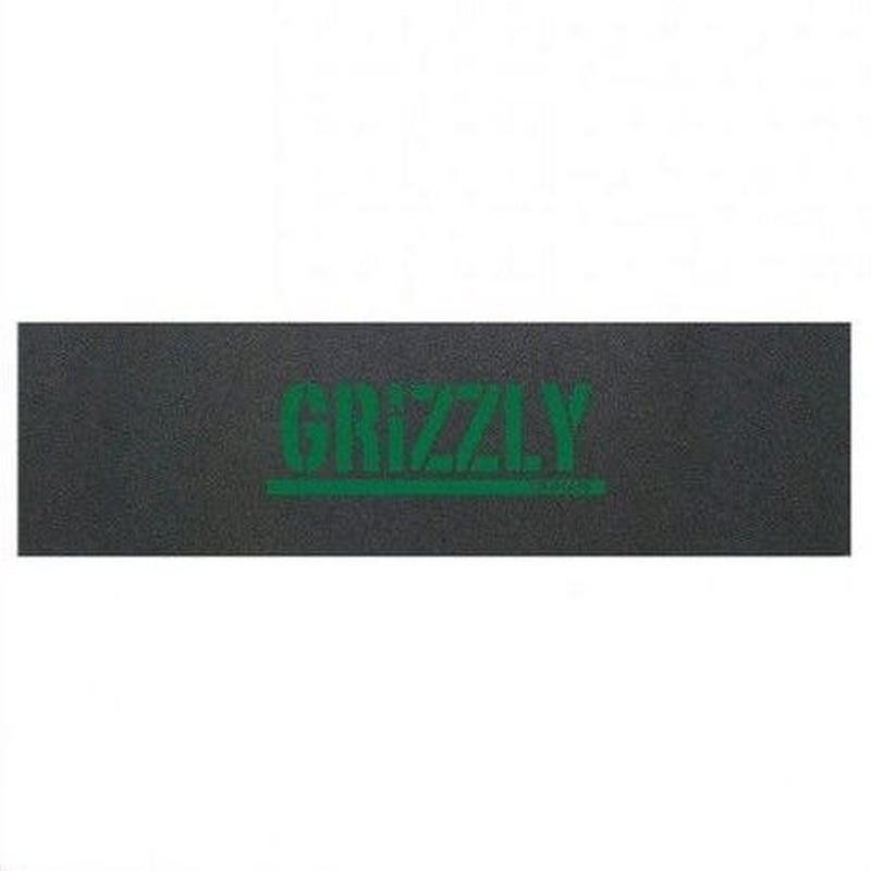"Grizzly / ""Green Stamp Griptape"""