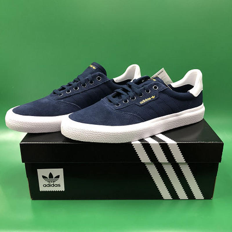 "Adidas / ""3MC"" Navy / White 7.5inch (25.5cm)"