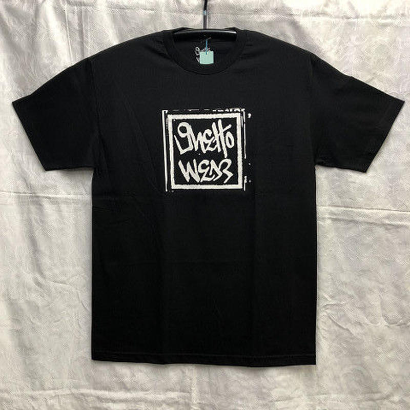 "Ghetto Wear / ""Press T-Shirt"" Black / L"