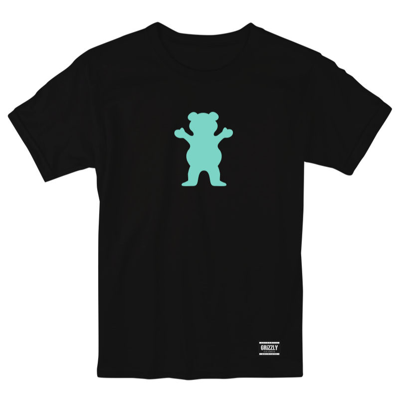 "Grizzly / ""OG Bear T-Shirt"" Black / XL"