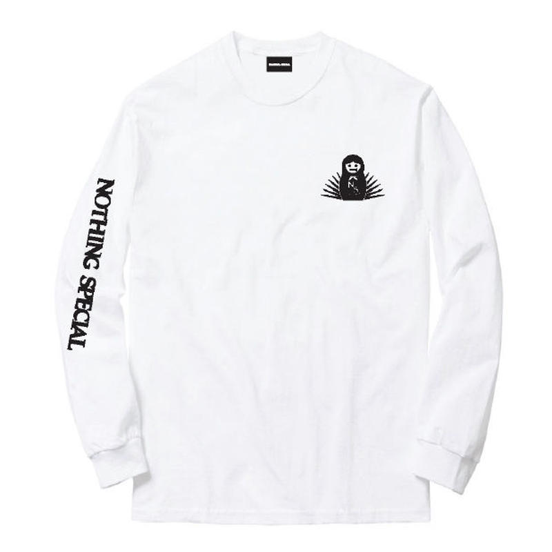 "Nothing Special / ""Bearing Mother L/S Tee"" White / XL"