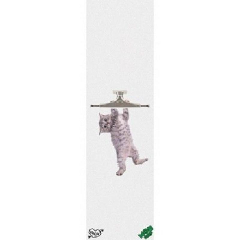 """Mob / Krux """"Kitty Hanger Griptape"""" / White"""