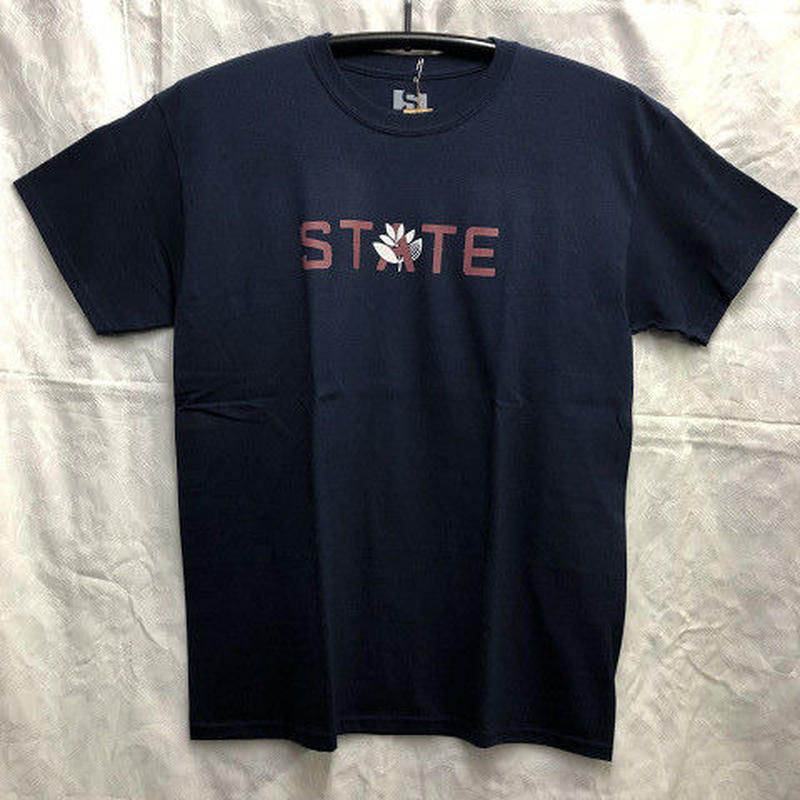 "State / ""State x Magenta T-Shirt"" Navy / L"