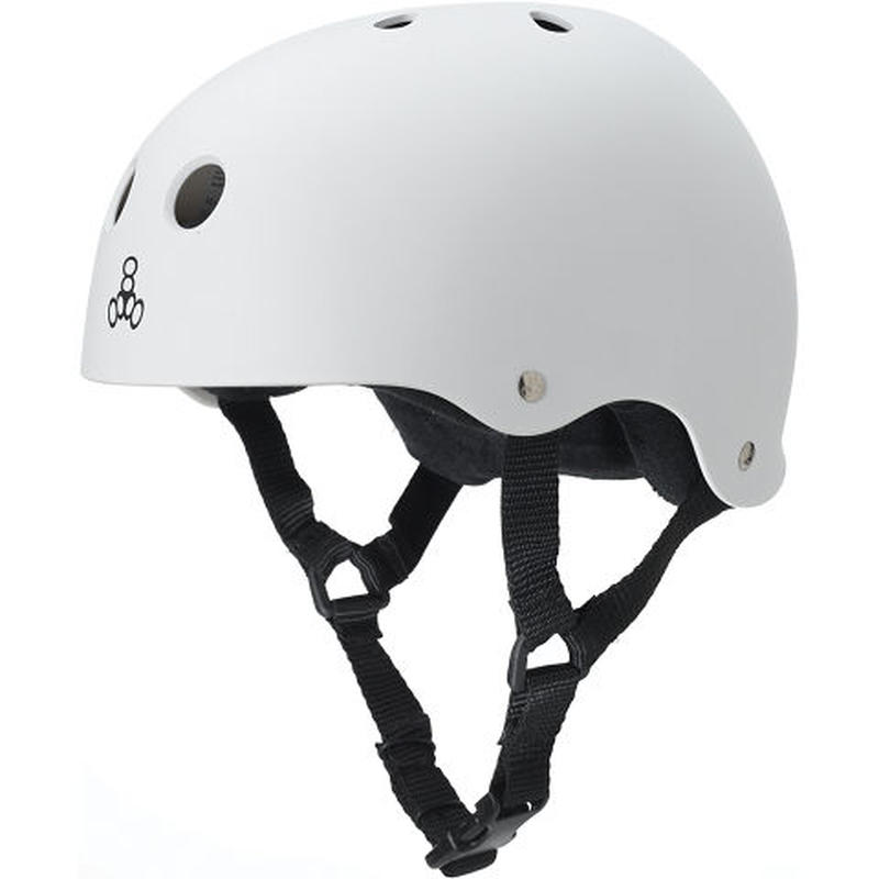 "Triple Eight Helmet / ""Sweatsaver Liner (The Heed)"" White / XXL"