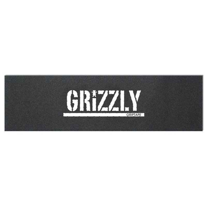 "Grizzly / ""Japan Stamp Griptape"" Black / White"