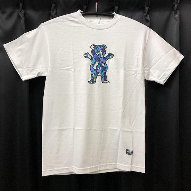 "Grizzly x Lucas Beaufort / ""Beaufort Crowd T-Shirt"" White / M"