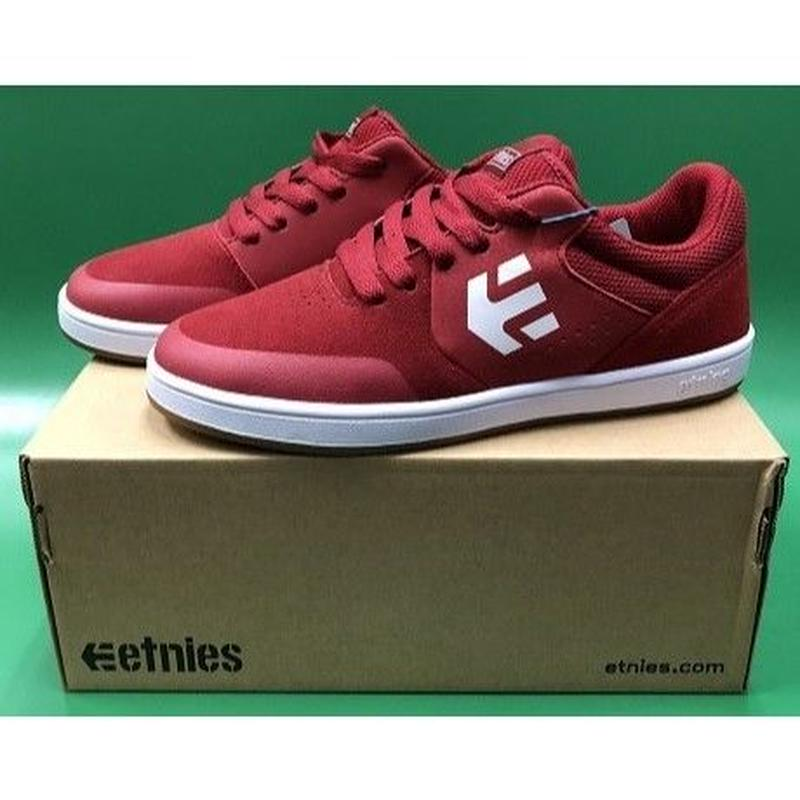 "Etnies / ""Kids Marana"" Red / White / Gum 5inch (23cm)"