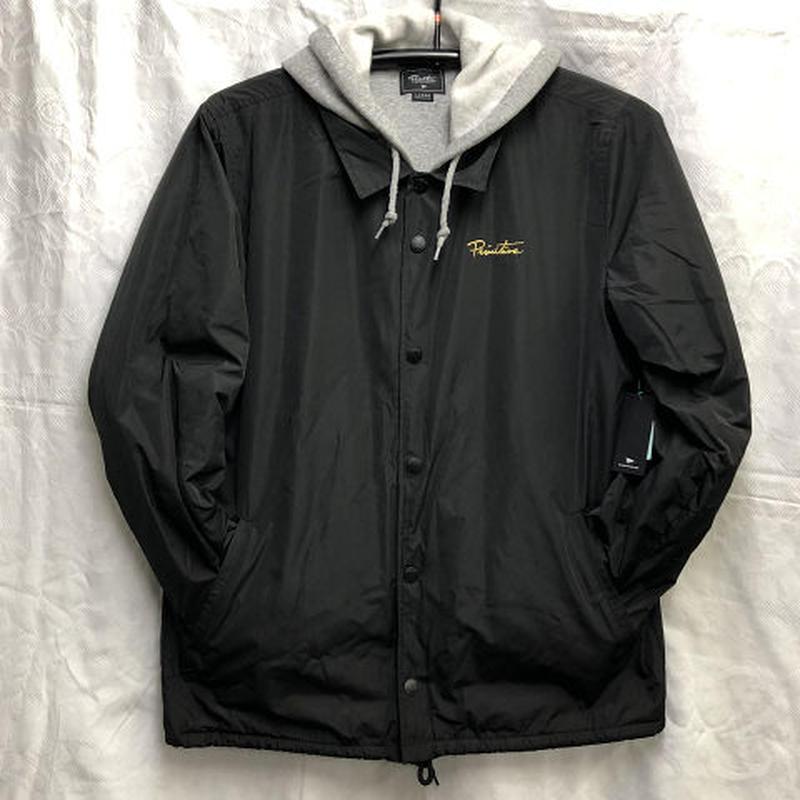 """Primitive / """"Two-Fer Coach Jacket"""" Black / L"""