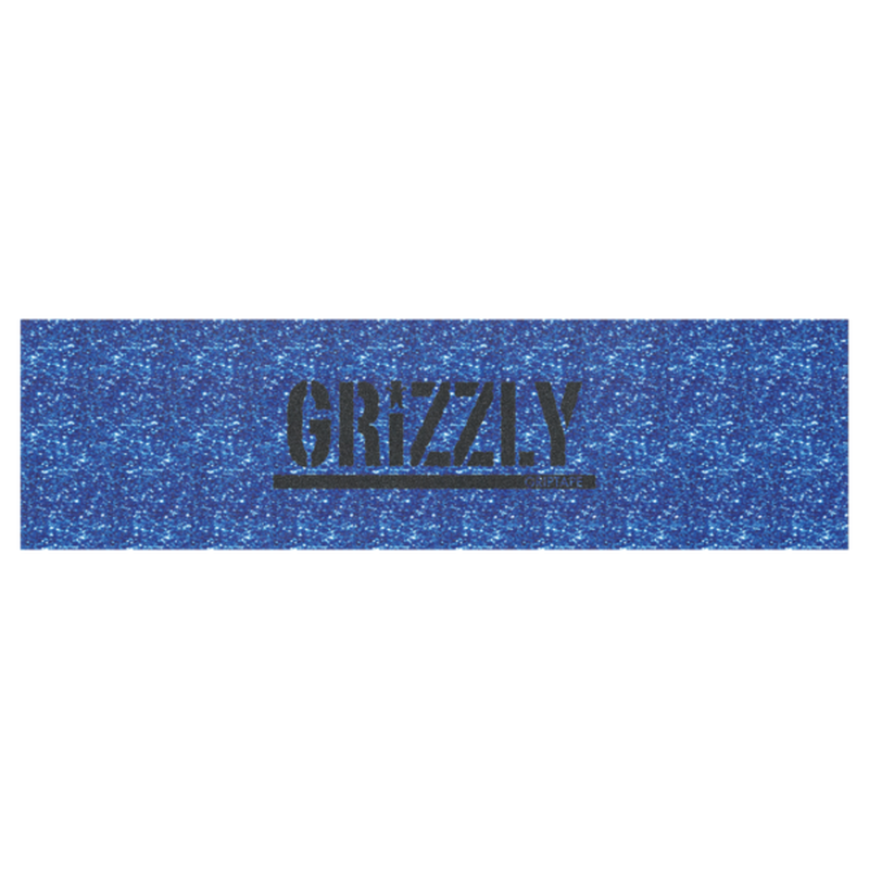 "Grizzly / ""Glitter Stamp Griptape Blue"""