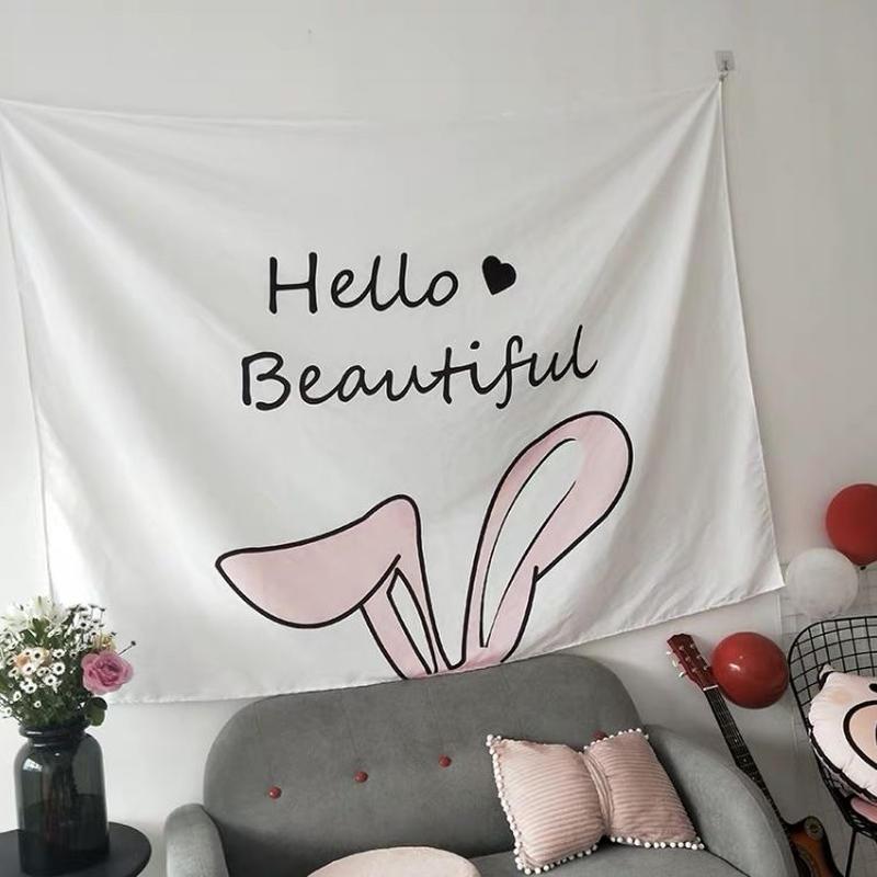 bunny タペストリー