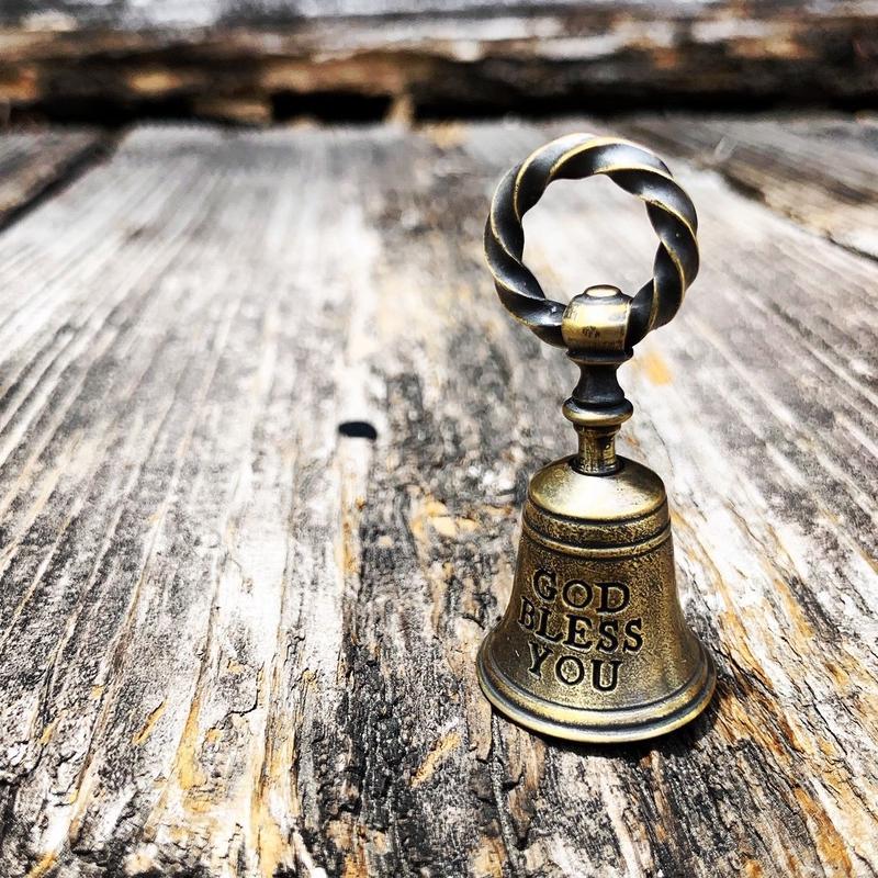 BELL CHARM (Brass)