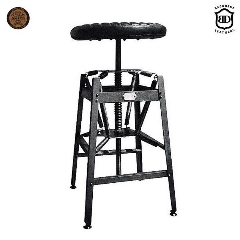 BACKDROP × BLACKSMITH  SPRING STOOL