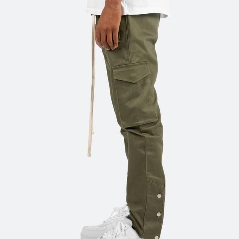 """""""19SS"""" mnml / ミニマル   Snap Cargo Pants スナップカーゴパンツ    -Olive-"""
