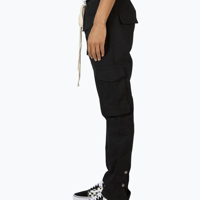 """""""19SS"""" mnml / ミニマル   Snap Cargo Pants スナップカーゴパンツ    -Black-"""