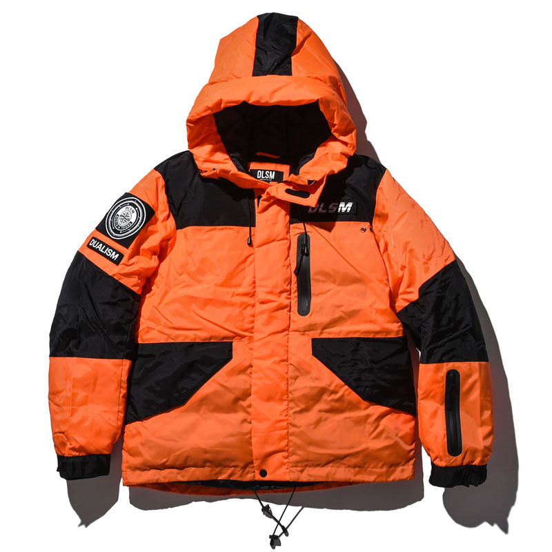 """18AW"" DLSM ディーエルエスエム COLOR BATTING JACKET -Orange-"