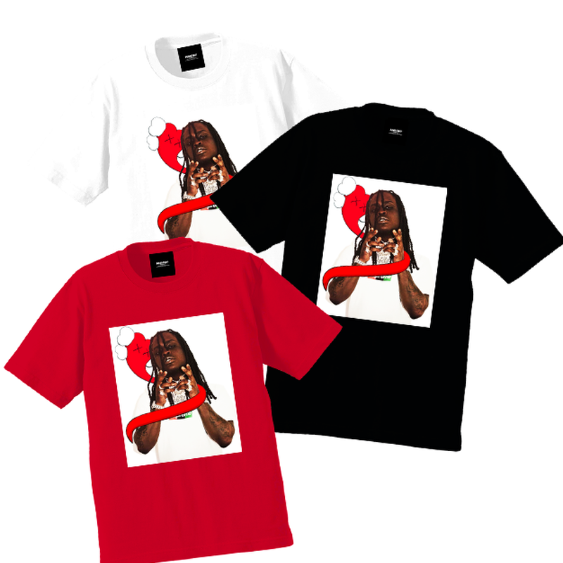 """19SS""  PANDEMIC  PDMC ORIGINAL F〇CK Tee ""Chief Keef. ""   -3color -"