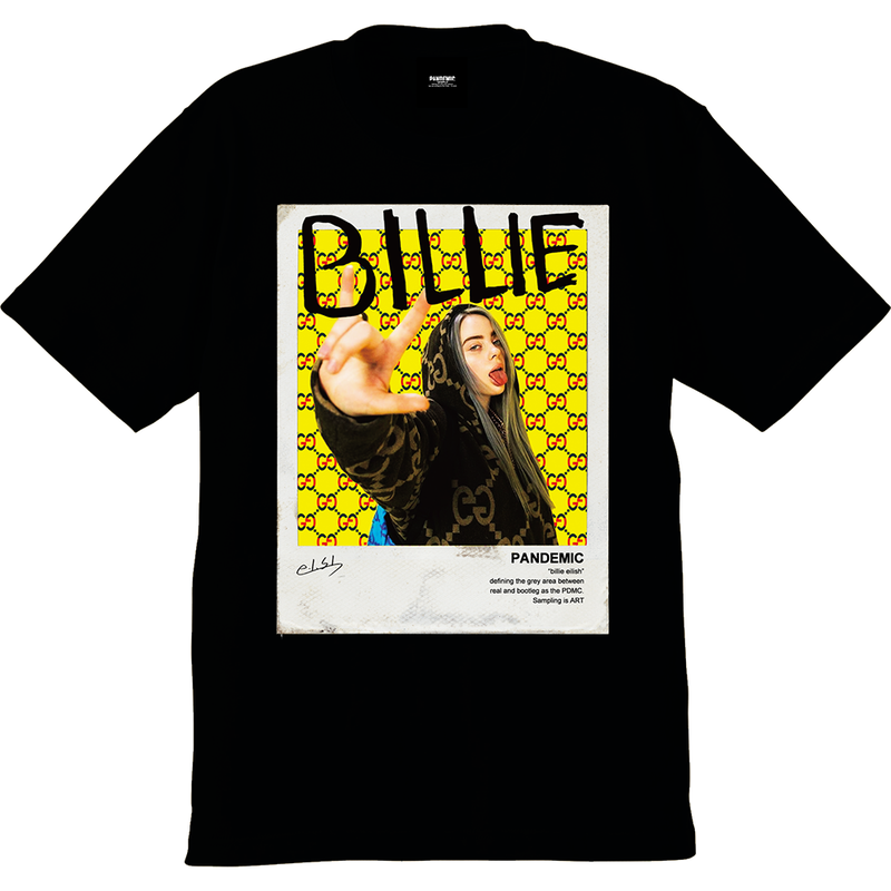 """19SS""[先行予約]  PANDEMIC  PDMC PhotoTee ""billie eilish""   - 5color -"