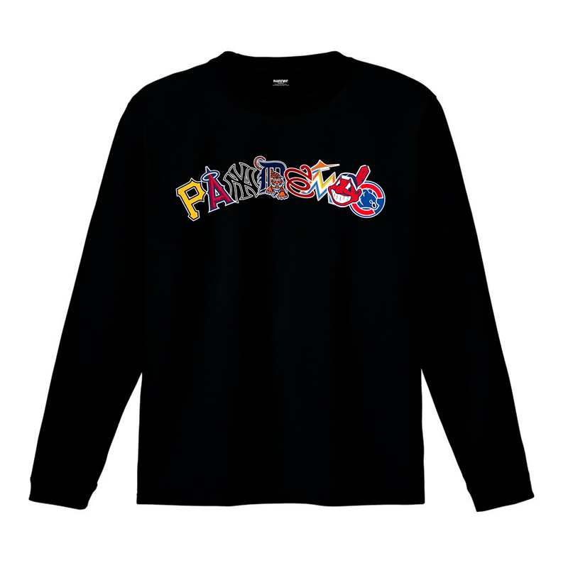 """19SS""  PANDEMIC  PDMC MLB Arc LOGO L/Tee   -2color-"