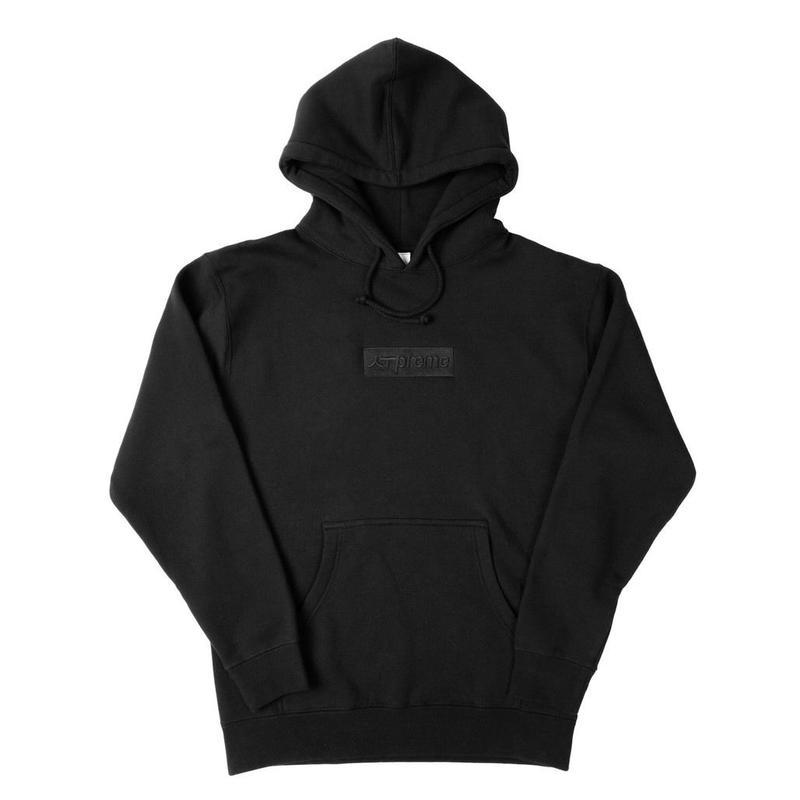 [海外買付] The ANTI Brand  ザ・アンチブランド the preme-ium hoody -Black×Black-