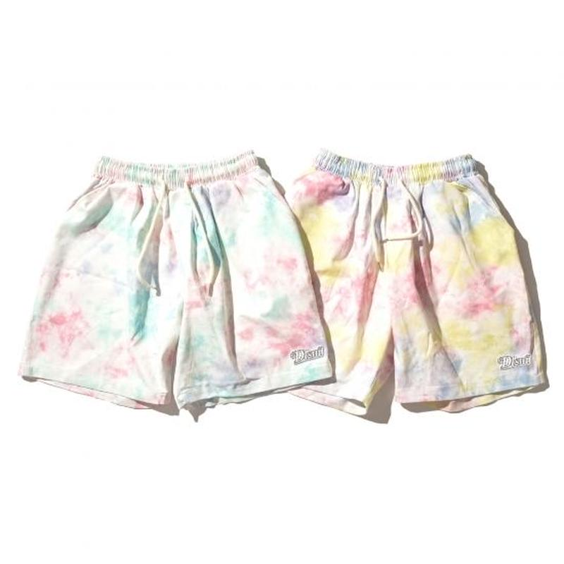 """19SS"" DLSM ディーエルエスエム DLSM NY LOGO TYE DIE SHORT PANTS -2color-"