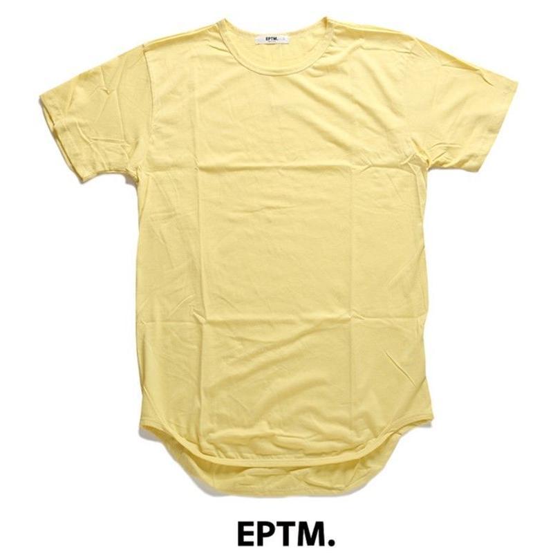 """18SS"" EPTM. / エピトミ Cotton Tee ロングレングスTシャツ -Lemon-"