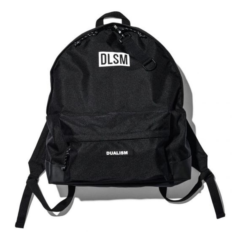 """19SS"" DLSM ディーエルエスエム DLSM LOGO BACK PACK -Black-"