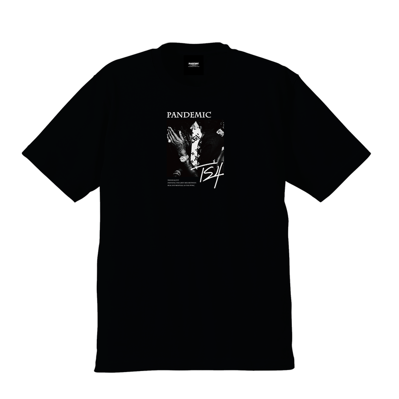"""19SS""  PANDEMIC  PDMC TRAVIS TS Limited Photo Tee 2   -Black-"
