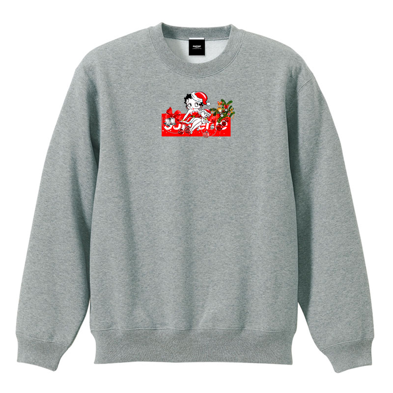 """18AW""    PANDEMIC  限定 X'mas Limited Box  Sweat    -Gray-"