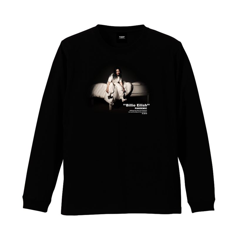 """19SS""  PANDEMIC  PDMC Photo L/Tee ""Billie Eilish""    -1color-"