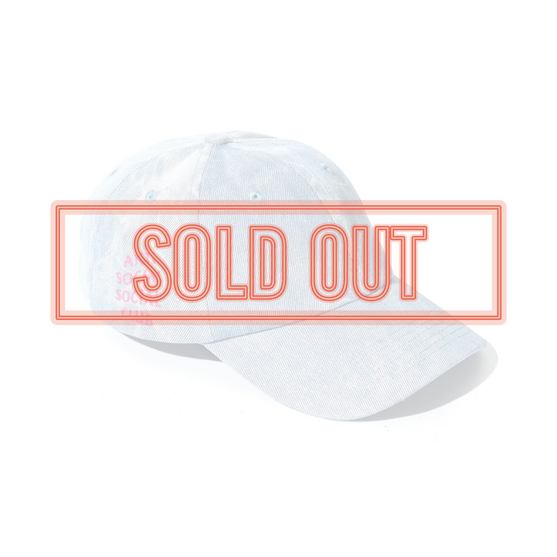 ANTI SOCIAL SOCIAL CLUB  アンチソーシャルクラブ ASSC  COW BOY Denim Cap -Light Indigo-