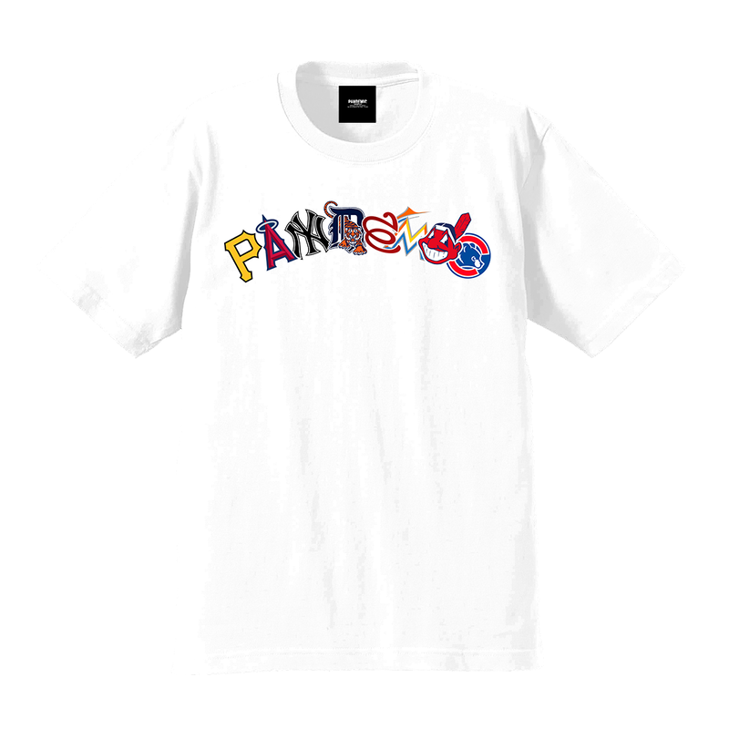 """19SS""  PANDEMIC  PDMC MLB Arc LOGO Tee   -2color-"