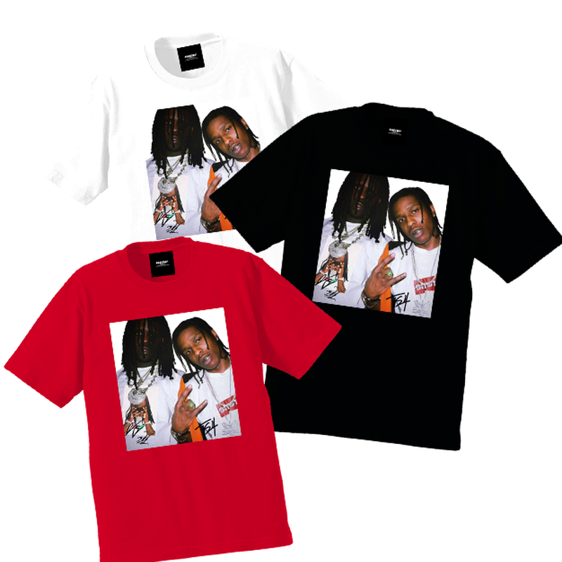 """19SS""  PANDEMIC  PDMC PhotoTee ""Keef & Travis""   - 3color -"
