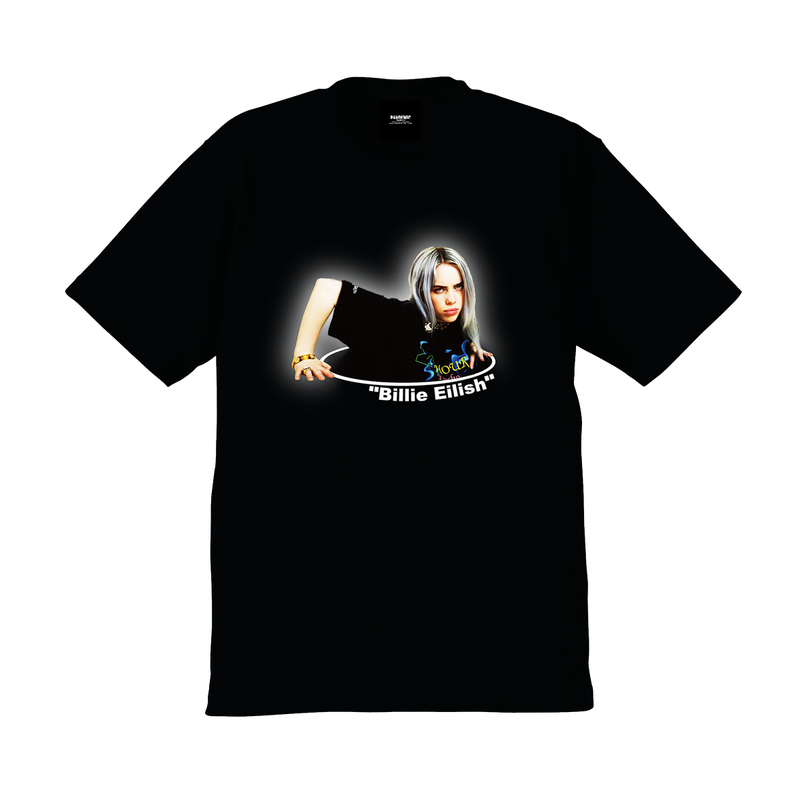 """19SS""  PANDEMIC  PDMC Photo L/Tee ""Billie Eilish""    -Black-"