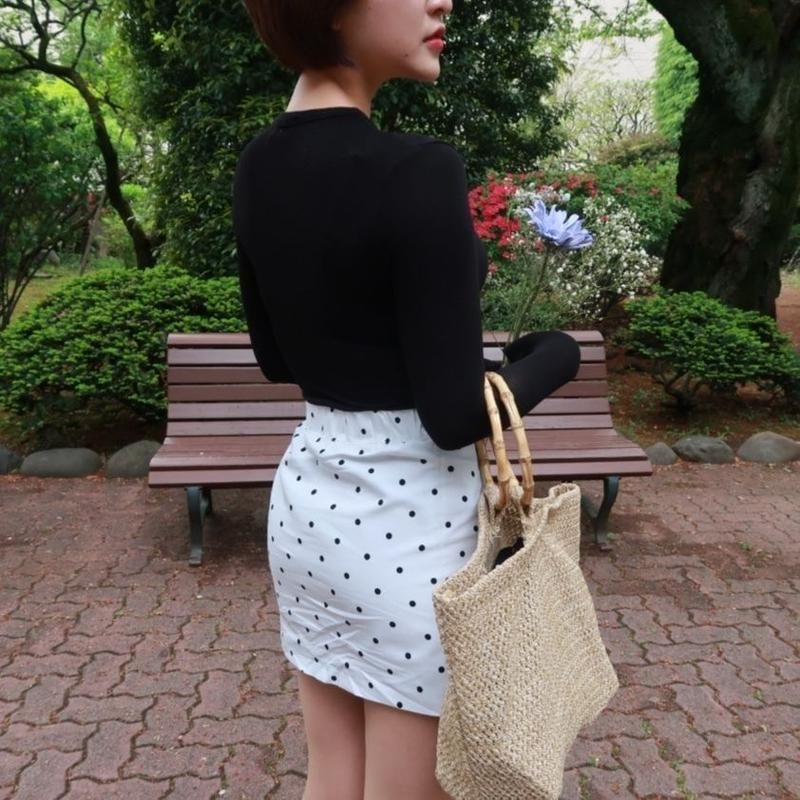Dot Mini Skirt